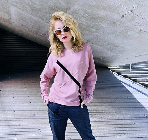 "Megztinis ""Pink & X"""