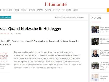 Presse - Quand Nietzsche lit Heidegger