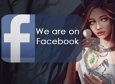We are on Facebook