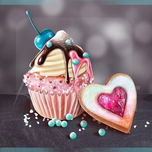 CU/PU Delicate Dream Cupcake