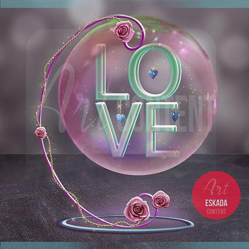 CU/PU Delicate Dream Love Sphere