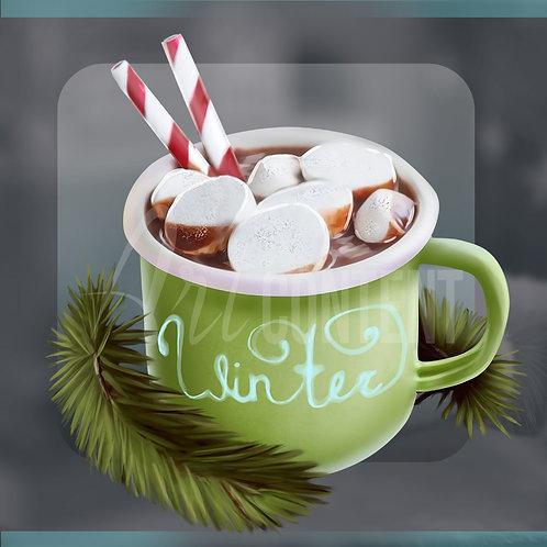 CU/PU Warm Christmas Cup