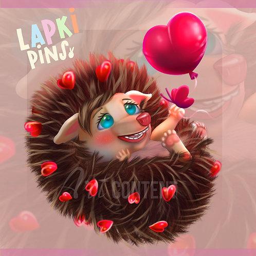 Enamored Hedgehog