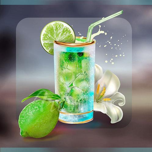 CU/PU LİTTLE PARADİSE Coctail and Lemon