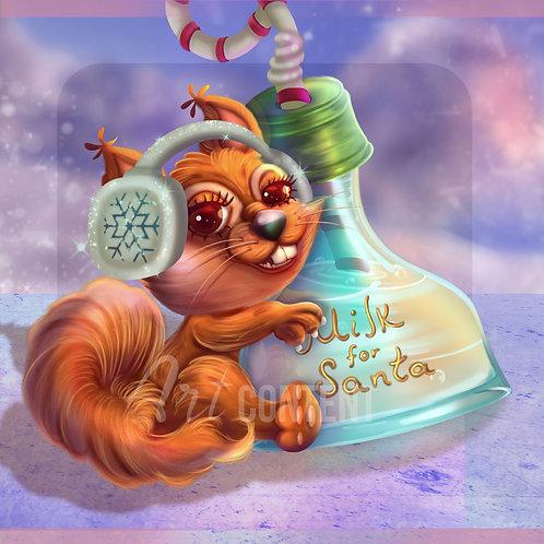 Maya Squirrel
