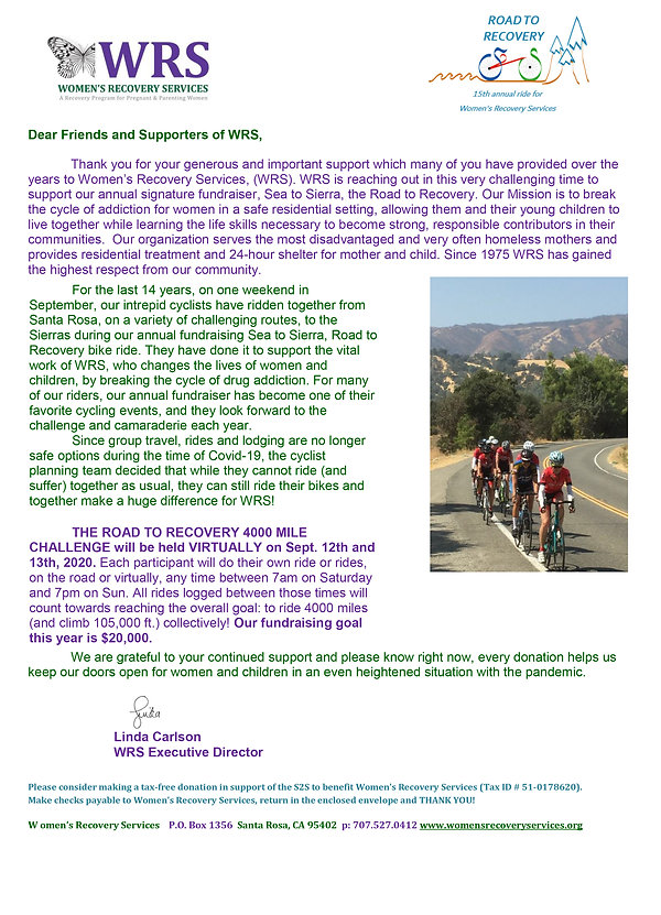 Road to Recovery Solicitation Letter- Fi