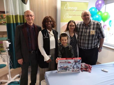 Une nouvelle salle d'oncologie pédiatrique à l'Hôpital régional d'Edmundston!