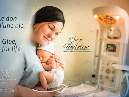 La 26e campagne annuelle de financement« Le don d'une vie » est lancée !