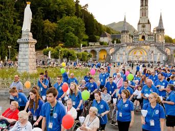 Lourdes, France                          same time next year…
