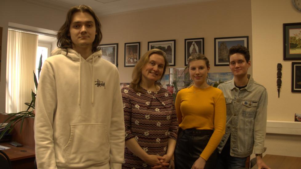 Filipino, alternative language course at Moscow State University