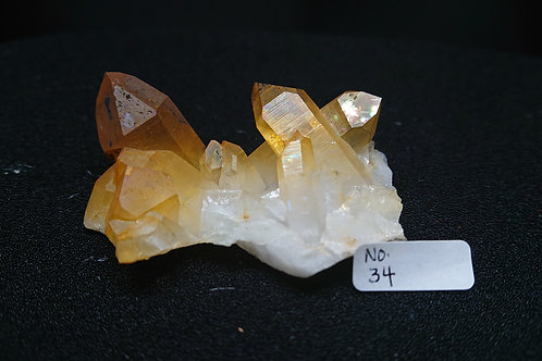 Golden Healer Cluster Crystal No. 34
