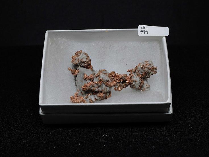"""Copper """"Cast"""" After Quartz (No. 779)"""