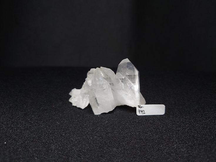 Clear Quartz Cluster (No. 742)