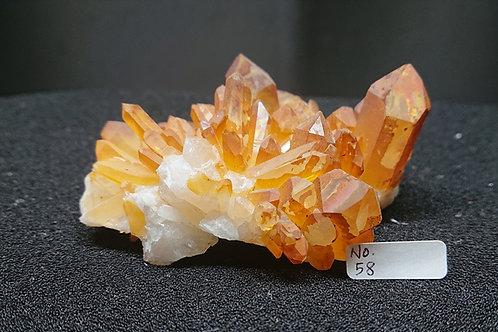 Golden Healer Cluster Crystal No. 58
