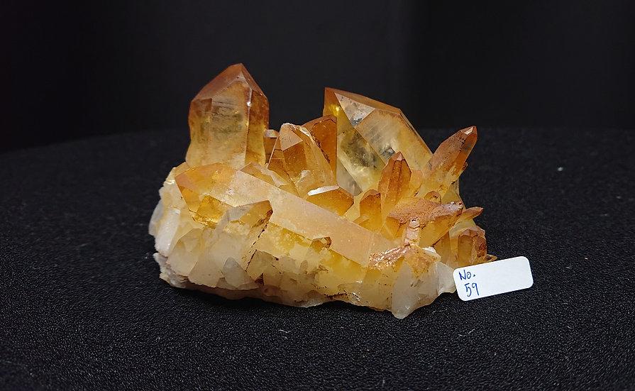 Golden Healer Cluster Crystal No. 59