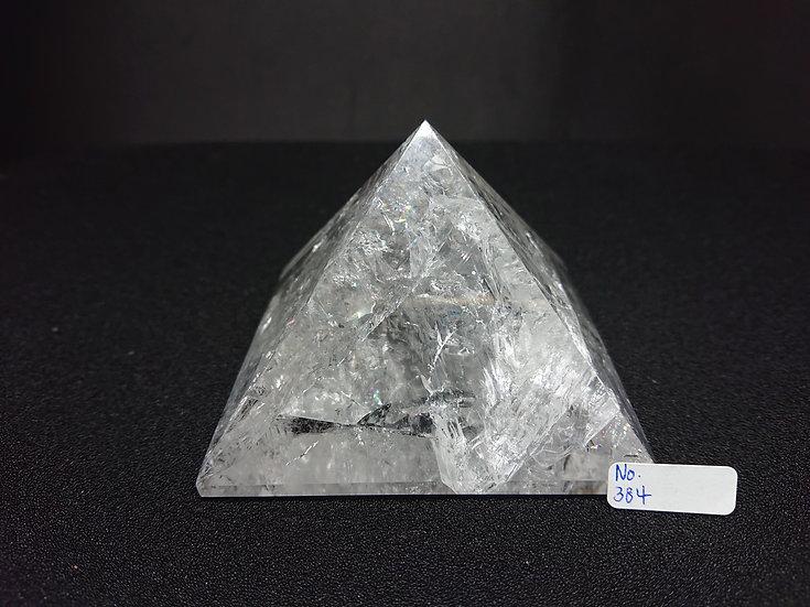 Clear Quartz Pyramid (No. 384)
