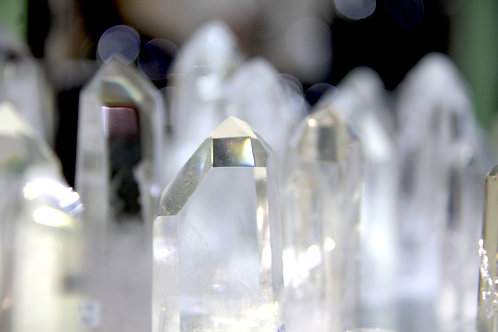 Clear Quartz Point, Polished
