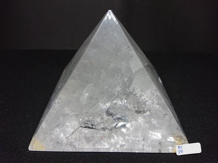 Clear Quartz Pyramid (No. 391)