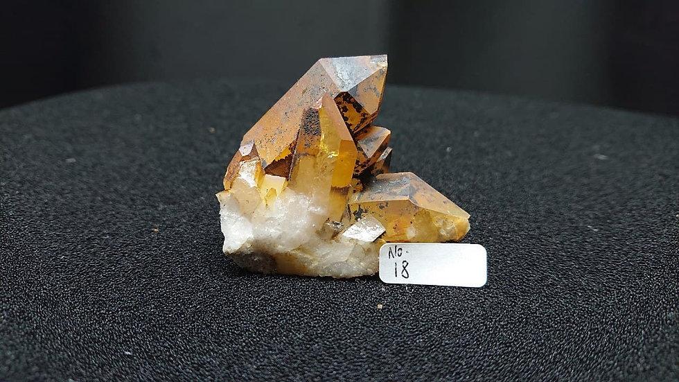 Golden Healer Cluster Crystal No. 18