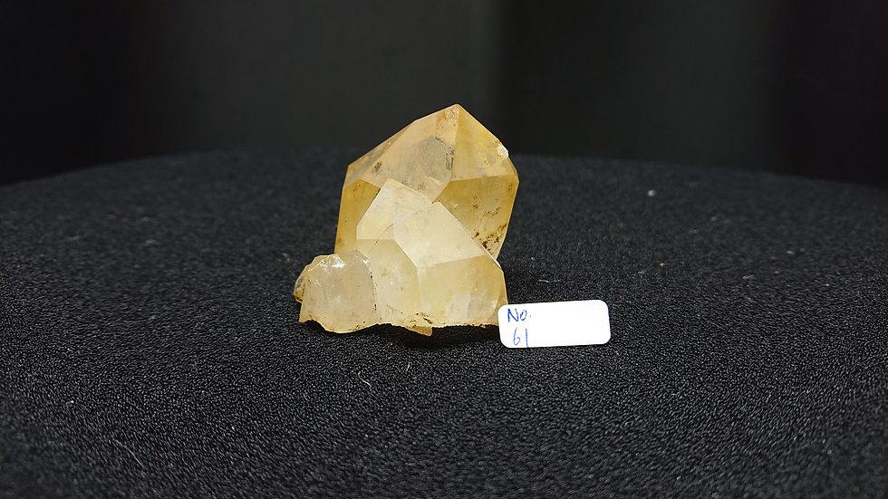 Golden Healer Cluster Crystal No. 61