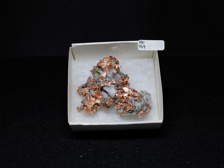 """Copper """"Cast"""" After Quartz (No. 764)"""