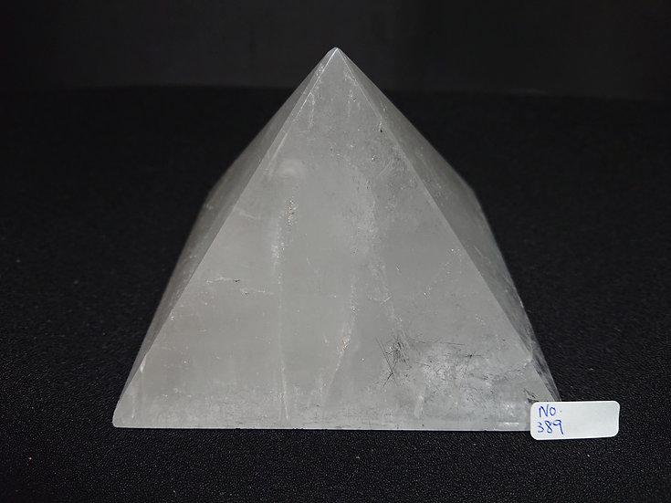 Clear Quartz Pyramid (No. 389)