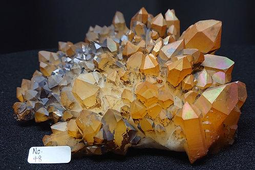 Golden Healer Cluster Crystal No. 48