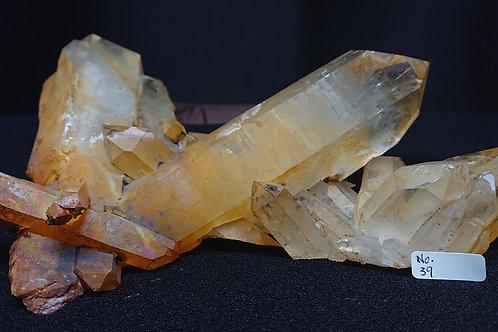 Golden Healer Cluster Crystal No. 39