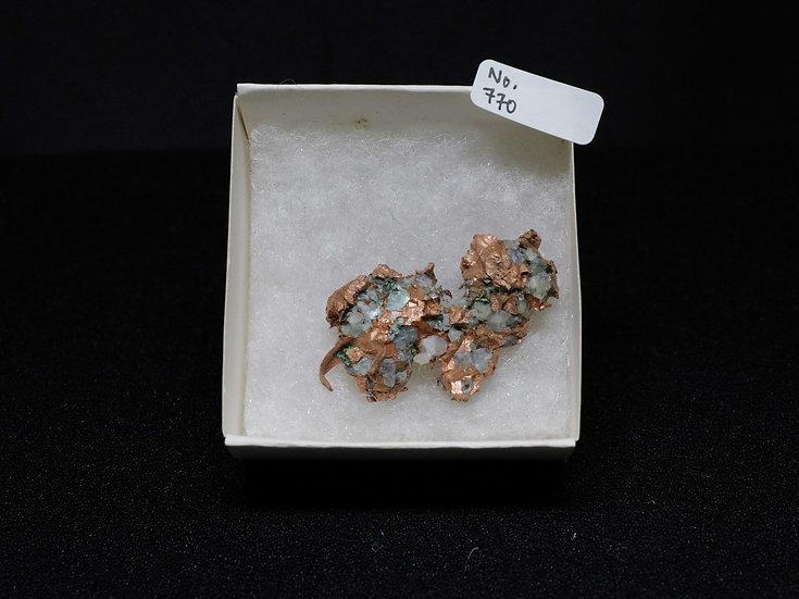 """Copper """"Cast"""" After Quartz (No. 770)"""