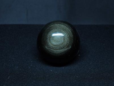 Silver Sheen Obsidian Sphere