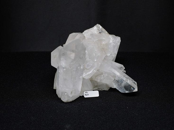 Clear Quartz Cluster (No. 753)