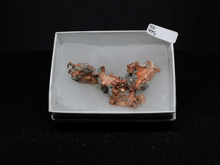 """Copper """"Cast"""" After Quartz (No. 775)"""