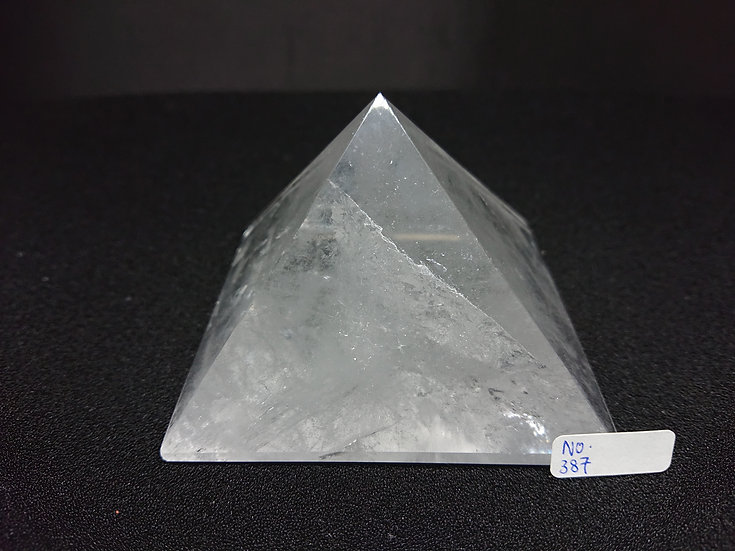 Clear Quartz Pyramid (No. 387)
