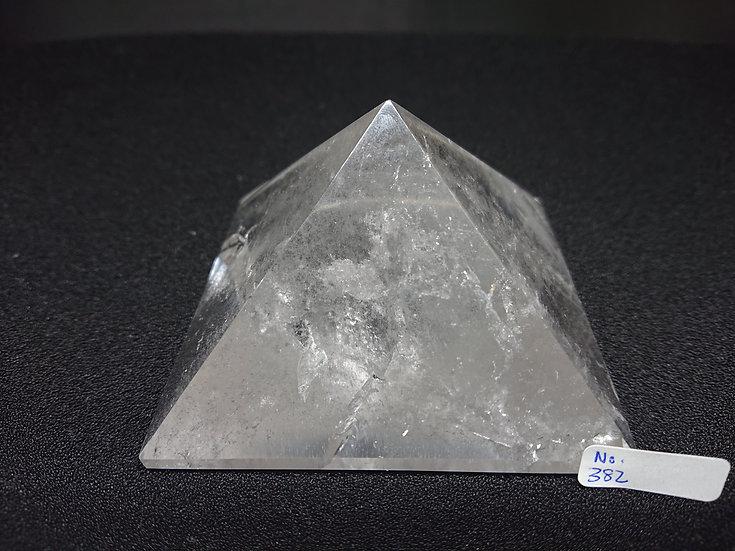 Clear Quartz Pyramid (No. 382)