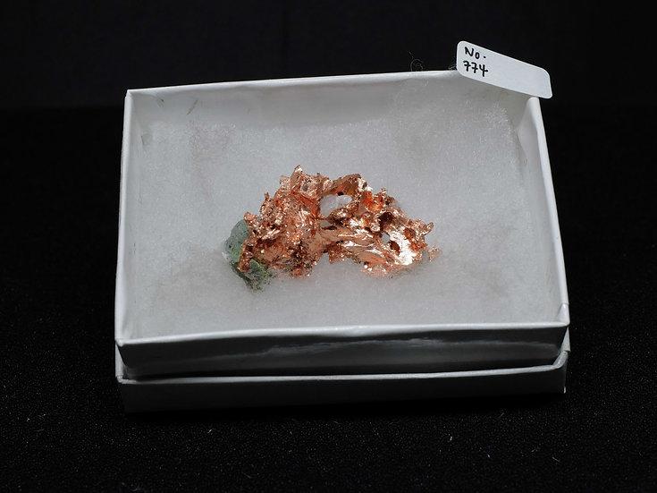 """Copper """"Cast"""" After Quartz (No. 774)"""