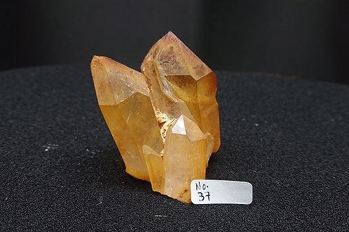 Golden Healer Cluster Crystal No. 37