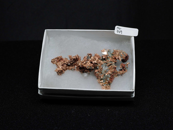 """Copper """"Cast"""" After Quartz (No. 769)"""