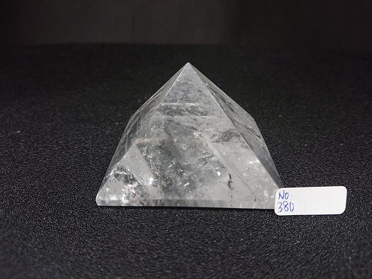 Clear Quartz Pyramid (No. 380)