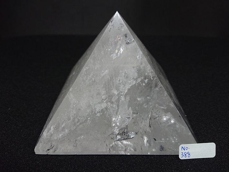 Clear Quartz Pyramid (No. 388)