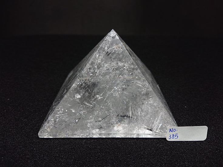 Clear Quartz Pyramid (No. 385)