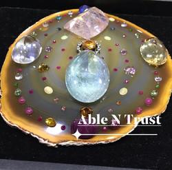 Personalised Crystal Mandala