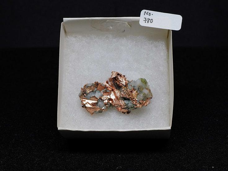 """Copper """"Cast"""" After Quartz (No. 780)"""
