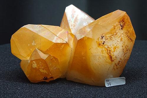 Golden Healer Cluster Crystal No. 38