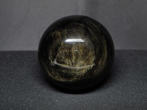 Gold Sheen Obsidian Sphere