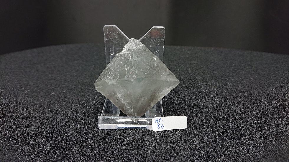 Fluorite Octahedron (No. 85)