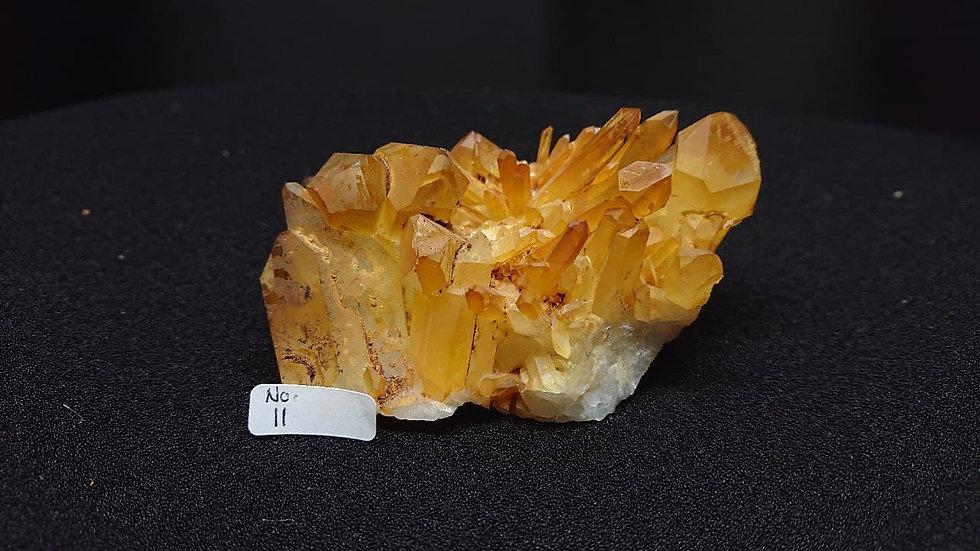 Golden Healer Cluster Crystal No. 11