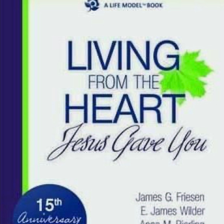 """""""Living From the Heart Jesus Gave You"""" Weekly Book Study"""