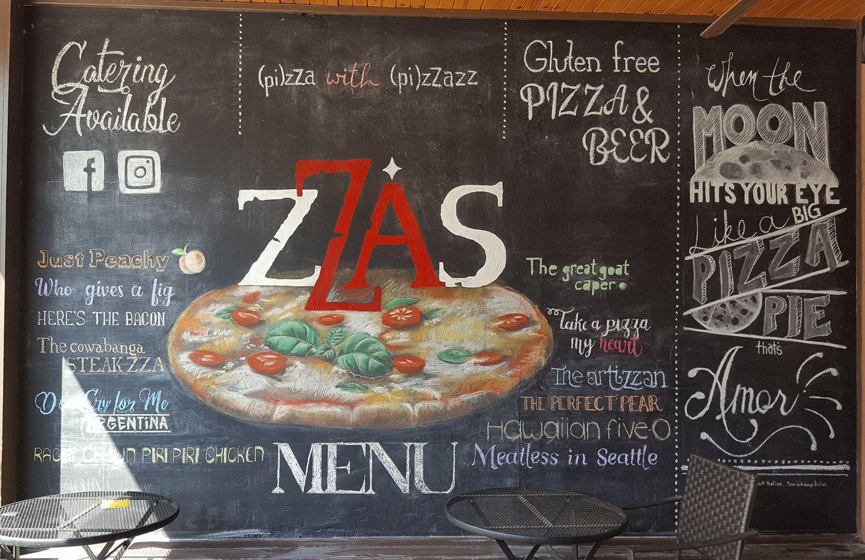 zZas Pizza Bistro | Mural