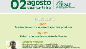Gustavo Vanucci teve participação especial no Circuito Mineiro de Compras Sociais com a Palestra: In
