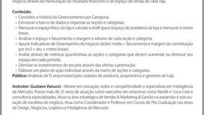 Dia 18/05/17 - Curso Gerenciamento por Categoria - Participe!!!